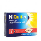 NiQuitin cerotti transdermici 7mg 24h smettere di fumare fase 3 (7 pz)