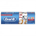 Oral B Junior dentifricio Star Wars  6+ anni gusto menta delicata (75 ml)