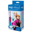OralB Power Vitality Spazzolino elettrico ricaricabile Frozen + astuccio omaggio