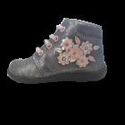 Primigi Nature Shoes Scarponcino bambina colore argento con inserto fiorellini numero 25