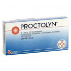 Proctolyn 1mg10mg (10 supposte)