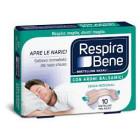RespiraBene Bretelline Nasali con Aromi balsamici per adulti (10 pz)