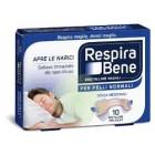 RespiraBene Bretelline nasali per adulti pelle normale (10 pz)