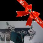 Euphidra Anemone bianco collection beauty box corpo idee regalo donna (doccia latte idratante 200ml + crema corpo vellutante 200ml + pochette omaggio)