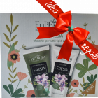 Euphidra Duo Fresia kit idratante corpo idee regalo donna (crema 75ml + doccia gel 75ml)
