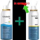 Tonimer Lab Baby 300 isotonica spray naso bimbi e neonati (100 ml) + tonimer Baby (100 ml)