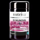 Nutriva Immunoval con Lattoferrina integratore difese immunitarie (30 compresse)