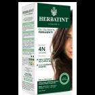 HerbaTint gel colorante permanente capelli 4N castano (kit completo)