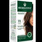 HerbaTint gel colorante permanente capelli 5N castano chiaro (kit completo)