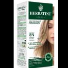 HerbaTint gel colorante permanente capelli 8N biondo chiaro (kit completo)