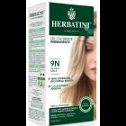 HerbaTint gel colorante permanente capelli 9N biondo miele (kit completo)