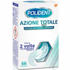 Polident Azione Totale pulitore quotidiano per dentiere (66 cpr)
