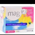 Mag 2 magnesio pidolato 2,25g polvere (40 bustine)