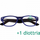 CorpOOtto Pc Vision Occhiali per lettura unisex colore blu +1,00 + astuccio in pelle