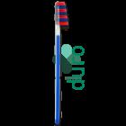 Taumarin spazzolino duro Scalare 33 (1 pz + coprisetole)