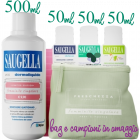 Saugella Dermoliquido pH 3,5 limited edition (500 ml) + omaggio bag prèt a porter + 3 campioni