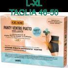 Panty snellente Ventre Piatto Alghe Guam Fir colore nero taglia L-XL