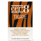 Cer'8 Tigre cerotto diffusore di oli essenziali antizanzara (36 pz)