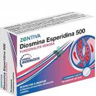 Zentiva Diosmina Esperidina 500 per la funzionalità venosa (30 compresse)