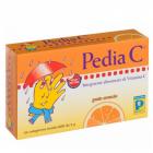 PediaC vitamina C per bambini gusto arancia (24 compresse masticabili)