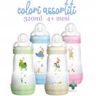 Mam Easy Start biberon anti coliche colori assortiti flusso rapido 4+ mesi (320 ml)