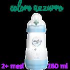 Mam Easy Start biberon anti coliche flusso medio 2+ mesi colore azzurro (260 ml)