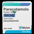 Paracetamolo Mylan Italia 500mg granulato uso orale (20 bustine)