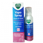 Vicks Vapo Spray acqua di mare Igiene Nasale Bebè e Bambini (100 ml)