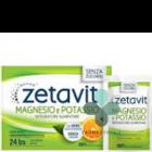 Zetavit Magnesio e Potassio senza zuccheri con vero succo d'arancia (24 bustine)