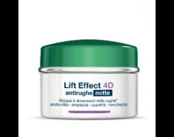 Somatoline Cosmetic Lift Effect 4D crema viso Notte antirughe filler (50 ml)