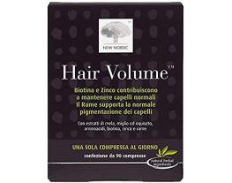 Hair Volume integratore per il benessere di capelli pelle e unghie (90 compresse)
