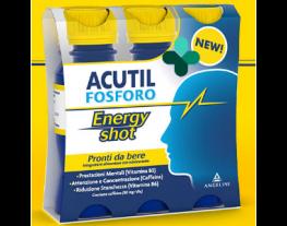 Acutil Fosforo Energy Shot (3 flaconi x 60 ml ciascuno)