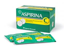 Aspirina C 400mg (20 cpr effervescenti)