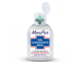 ManiPur gel igienizzante mani con alcool e tea tree oil (70 ml)