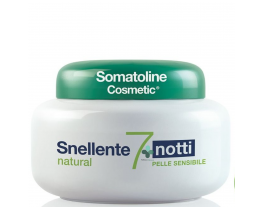 Somatoline Cosmetic Snellente natural 7 notti pelle sensibile (400 ml)