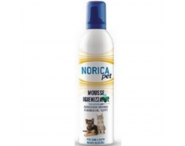Norica Pet mousse igienizzante senza risciacquo per cani e gatti (400 ml)